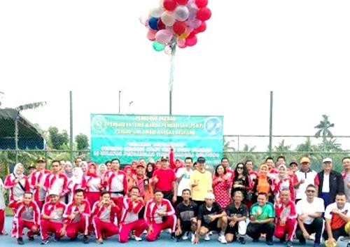 Seleksi Atlit Tenis Daerah PTWP Pengadilan Tinggi Bangka Belitung