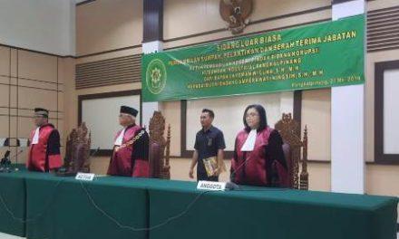Pengambilan Sumpah, Pelantikan dan Serah Terima Jabatan Ketua PN Pangkalpinang