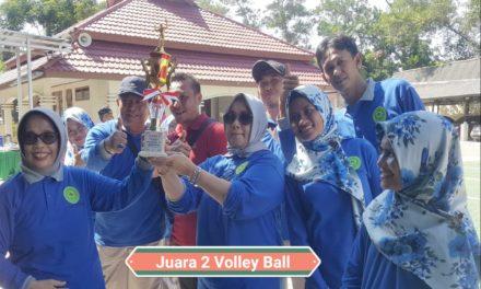 Juara 2 Volley Ball HUT MA 2019