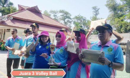 Juara 3 Volley Ball HUT MA 2019