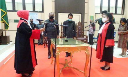 Pelantikan Dr. M. ELY Mariani, S.H., M.Hum. Sebagai Wakil Ketua Pengadilan Tinggi Bangka Belitung