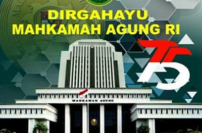 HUT Mahkamah Agung Republik Indonesia Ke 75