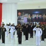 KETUA PENGADILAN TINGGI BANGKA BELITUNG IKUT UPACARA PERINGATAN HUT TNI KE-75 TAHUN 2020 DI ISTANA NEGARA RI SECARA VIRTUAL