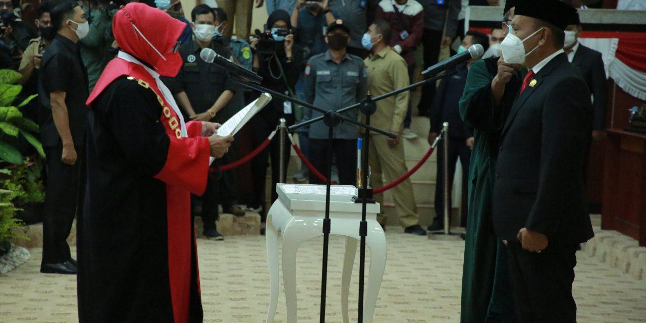 Pelantikan Ketua  DPRD Provinsi Kepulauan Bangka Belitung