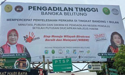 Inovasi Layanan Pengadilan Tinggi Bangka Belitung Mempercepat Penyelesaian Perkara di Tingkat Banding 1 Bulan