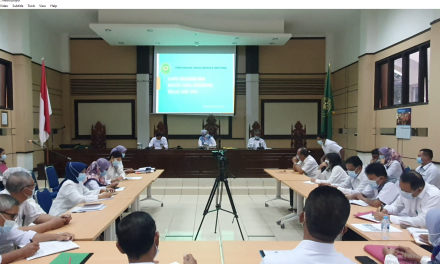 Rapat Bulanan  Dan Pengantar Alih Tugas Panitera Pengganti  Bapak M. Teguh S.E., S.H., M.H.