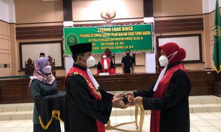 Serah Terima Jabatan Ketua Pengadilan Negeri Koba